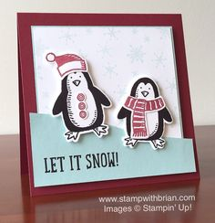 Snow Place, Snow Friends Framelits, Stampin' Up!, Brian King