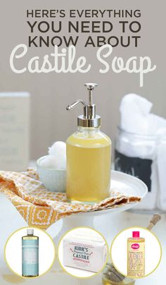 This is one of my FAVORITE pins on how to use Castile Soap! Excellent information! :) Here's How To Use Castile Soap To Clean Everything In Your House Deep Cleaning Tips, House Cleaning Tips, Cleaning Solutions, Spring Cleaning, Cleaning Hacks, Diy Hacks, Cleaning Supplies, Cleaning Crew, Cleaning Spray