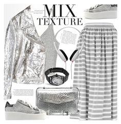 """Silver"" by cilita-d ❤ liked on Polyvore featuring Temperley London, Alexander McQueen, Balenciaga, Ash, McQ by Alexander McQueen, Maison Margiela and MANGO"