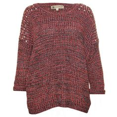 Black Youngstown Studded Knit