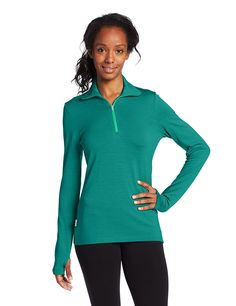 Icebreaker Women's Tech Top Long Sleeve Half Zip *** This is an Amazon Affiliate link. Find out more about the great product at the image link.