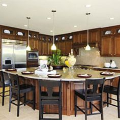 Preparing to have a big family -Kitchens from HGTV website