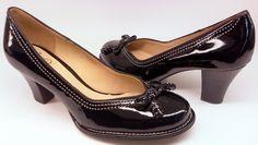 Clarks pumps BOMBAY LIGHTS black patent leather
