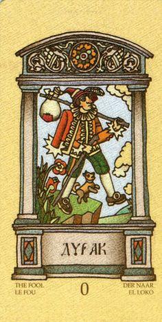 Magic Slavonic Tarot