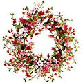 I want this! Pink Cherry Blossom Wreath from Pier 1