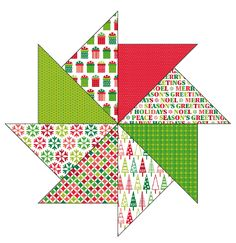free Christmas patterned papers | from Papercraft Inspirations