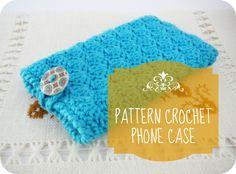 Patrón de Funda para Móvil en Crochet {PDF}  de Little Cotton Shop by Pitusas&Petetes Handmade por DaWanda.com