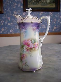 Chocoliatier: Fine China Chocolate Pots on Pinterest | Prussia ...