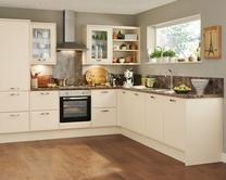 Saponetta Cream Kitchen Range | Kitchen Families | Howdens Joinery