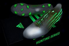 The awesome glow in the dark, adidas f50 adiZero Hunt Pack.