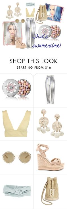 """""""that's summertime!"""" by m-illumino-di-glamour ❤ liked on Polyvore featuring Guerlain, Topshop, Valentino, Humble Chic, Dolce&Gabbana, Kendall + Kylie, Yves Saint Laurent, chic, summerstyle and holidays"""