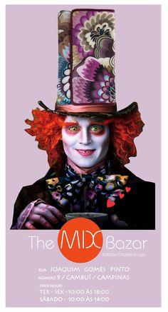 E por falar em semana bem colorida...a coleção Universo Alice não pode ficar de fora. Divertida e cheia de imaginação. Você já viu nossa campanha? #themixbazar #estudiocriativo #loja #bazar #design #moda #arte #upcycling #clutches #universoalice http://issuu.com/themixbazar/docs/universo_alice_8158a7e23fe9d1/1