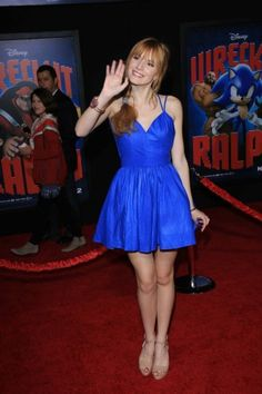 bella thorne wreck it ralph premiere | wreck it ralph film premiere el capitan hollywood ca 10 29 12 0 ...