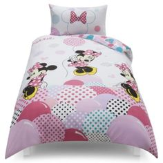 Disney Minnie Mouse Lost In Dots Single Duvet Set Tesco Exclusive