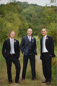 A groom and his men! Dashing! #groom #groomsmen #wedding