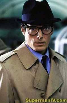 Superman IV The Quest For Peace. Smoldering Clark Kent good looks and that hat!?