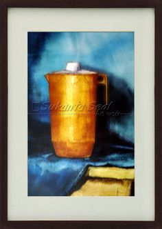 Still Life - Water Color Indian Artist, Mumbai, Still Life, Arts And Crafts, Watercolor, Painting, Pen And Wash, Watercolor Painting, Gift Crafts