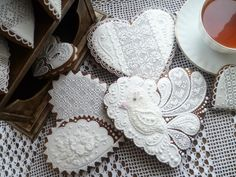 AMAZING piping work!!! Sweet heart | Cookie Connection