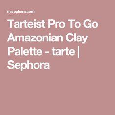 Tarteist Pro To Go Amazonian Clay Palette - tarte | Sephora