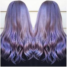 melisak47 used #KenraColor 9VM + Violet Booster to create this lavender #MetallicObsession!