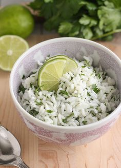 Chipotle cilantro lime rice! Actually tastes exactly like the real stuff!