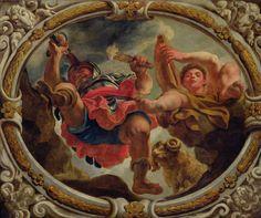 Áries | O zodíaco no teto da Galeria Oriente