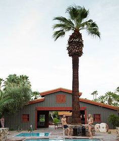 Consider the Sparrows Hotel in Palm Springs, CA an Ace Hotel gone country: all 20 rooms have rancho-rustic furniture and vintage Swiss Army blankets.