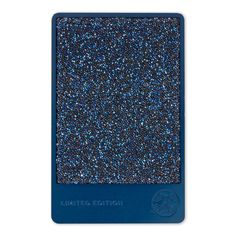 A limited-edition, deep blue stainless steel Starbucks Card embellished with blue Swarovski crystals. Comes loaded with $50 and beautifully packaged.
