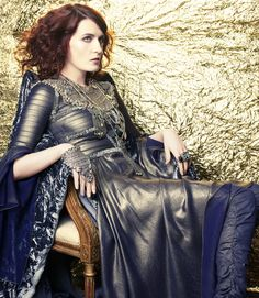 Florence Welch Interview from Marie Claire. Photo Credit: Tesh.