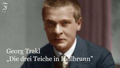 """""""Die drei Teiche in Hellbrunn"""" von Georg Trakl, gelesen von Thomas Huber."""