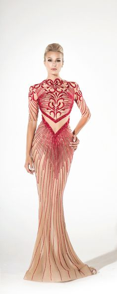 Charbel Zoé Spring-summer 2016 - Couture - http://www.orientpalms.stfi.re/Charbel-Zoe-6189