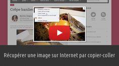 Apprenez à récupérer une image sur Internet en la copiant-collant dans votre programme de traitement de texte. Lien : http://www.pausetuto.com/copier-une-image-sur-internet