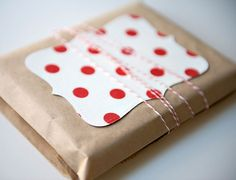 Etsy bakers Twine Handmade Craft Paper packaging inspiration pretty package wrap style