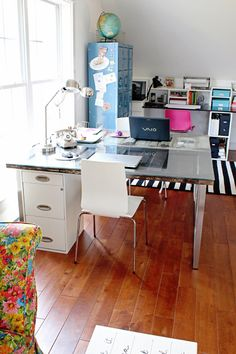 Today's reader space is kicking 2014 off with a bang! If you are itching to get your workspace, craft space or creative space in order this...