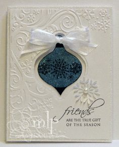 Prickley Pear - Ornament Window Card by istamp31 - Cards and Paper Crafts at Splitcoaststampers