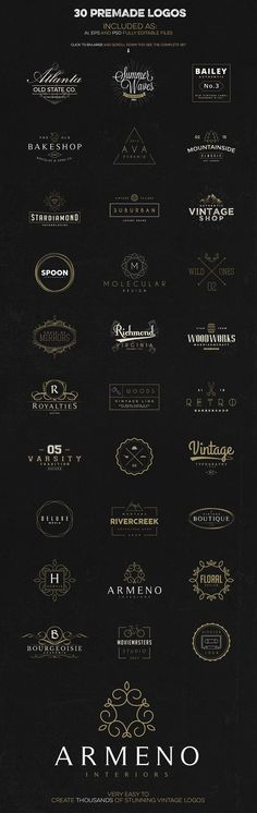 Logo Creation Kit + Bonus by Zeppelin Graphics on Creative Market