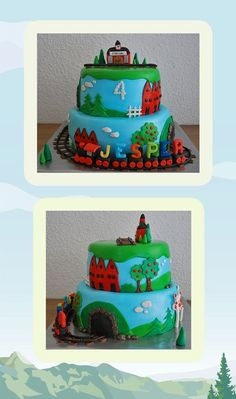 Train Cake - by me