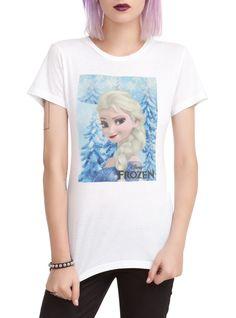 Disney Frozen Elsa Girls T-Shirt   Hot Topic