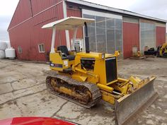 1989 Komatsu D20A-6 Bull Dozer Tractor Diesel Engine Construction 6 Way Blade