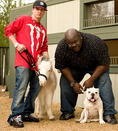 Rob & Big (with Mini Horse and Meaty) Rob And Big, Rob Dyrdek, Big Photo, Rest In Peace, Big Black, Reality Tv, Animal Memes, Best Tv, Favorite Tv Shows