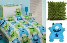 @Holly Flynn...I had no idea there were so many one-eyed monster products out there.