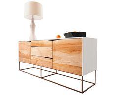 Birch + Walnut Sideboard