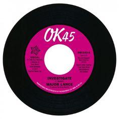 "Major Lance - Investigate / It's The Beat 7"" Vinyl"