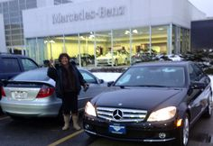 Me with my old & new Benz :)