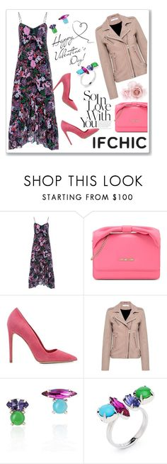 """IFCHIC Valentines day Style"" by ruza-b-s ❤ liked on Polyvore featuring Saloni, Love Moschino, Dee Keller, Joomi Lim, valentinesday, ifchic and worldwideshipping"