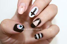 disco nail tribute