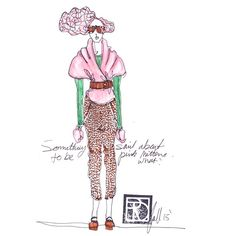 Layering in pink and green (+ some naturals too..) #TRD #trends #TRDtrends #instadaily #illustrationtalent #inspirationfashion #lovefashion #photoaday #dreamers #drawing #linedrawing #fall15 #fallcollection2015