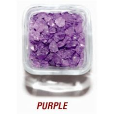 SANDTASTIK PRODUCTS INC.  ICE20LBPUR 20 LB.  BOX OF 410 PURPLE COLORED ICE