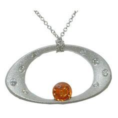 Garnet Necklace (Spessartite) https://www.goldinart.com/shop/necklaces/colored-gemstones-necklaces/garnet-necklace-spessartite