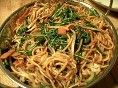 Chinese Noodle Stir Fry - Very easy and very healthy